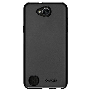 AMZER Pudding TPU Case - Black for LG K10 POWER