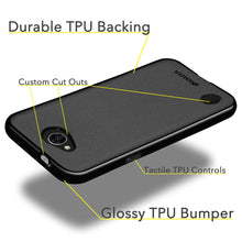 Load image into Gallery viewer, AMZER Pudding TPU Case - Black for LG K10 POWER