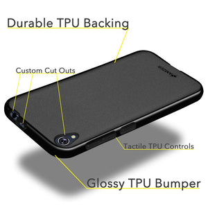 AMZER Pudding TPU Case - Black for Asus ZenFone Live ZB501KL