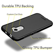 Load image into Gallery viewer, AMZER Pudding TPU Case - Black for HTC One X10