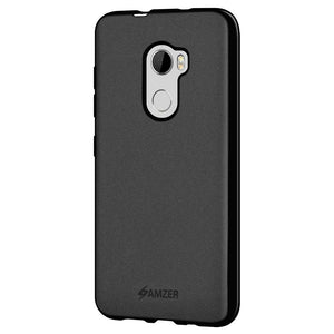 AMZER Pudding TPU Case - Black for HTC One X10