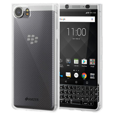 AMZER Pudding TPU Case - Cloudy Clear for BlackBerry KEYone