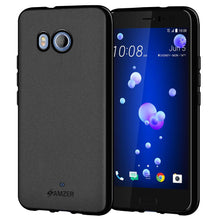 Load image into Gallery viewer, AMZER Pudding TPU Case - Black for HTC U11