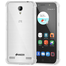 Load image into Gallery viewer, AMZER Pudding TPU X Protection Case - Crystal Clear for ZTE Blade A520