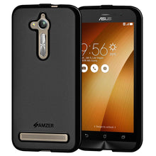 Load image into Gallery viewer, AMZER Pudding TPU Case - Black for Asus ZenFone Go ZB500KL