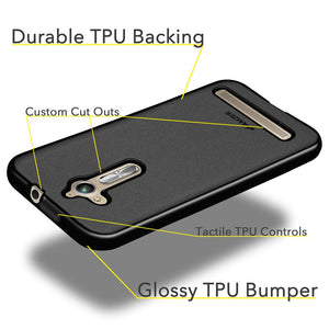 AMZER Pudding TPU Case - Black for Asus ZenFone Go ZB500KL