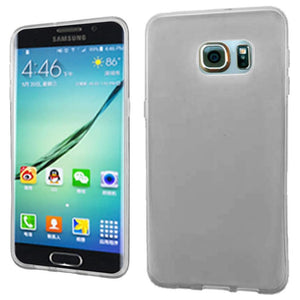 Frosted Matte TPU Case - Clear for Samsung Galaxy S6 edge Plus SM-G928F