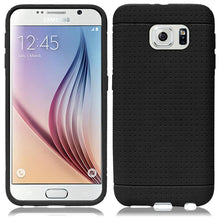 Load image into Gallery viewer, Rugged Silicone Case - Black for Samsung Galaxy S6 SM-G920F