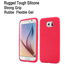 Load image into Gallery viewer, Rugged Silicone Case - Hot Pink for Samsung Galaxy S6 SM-G920F