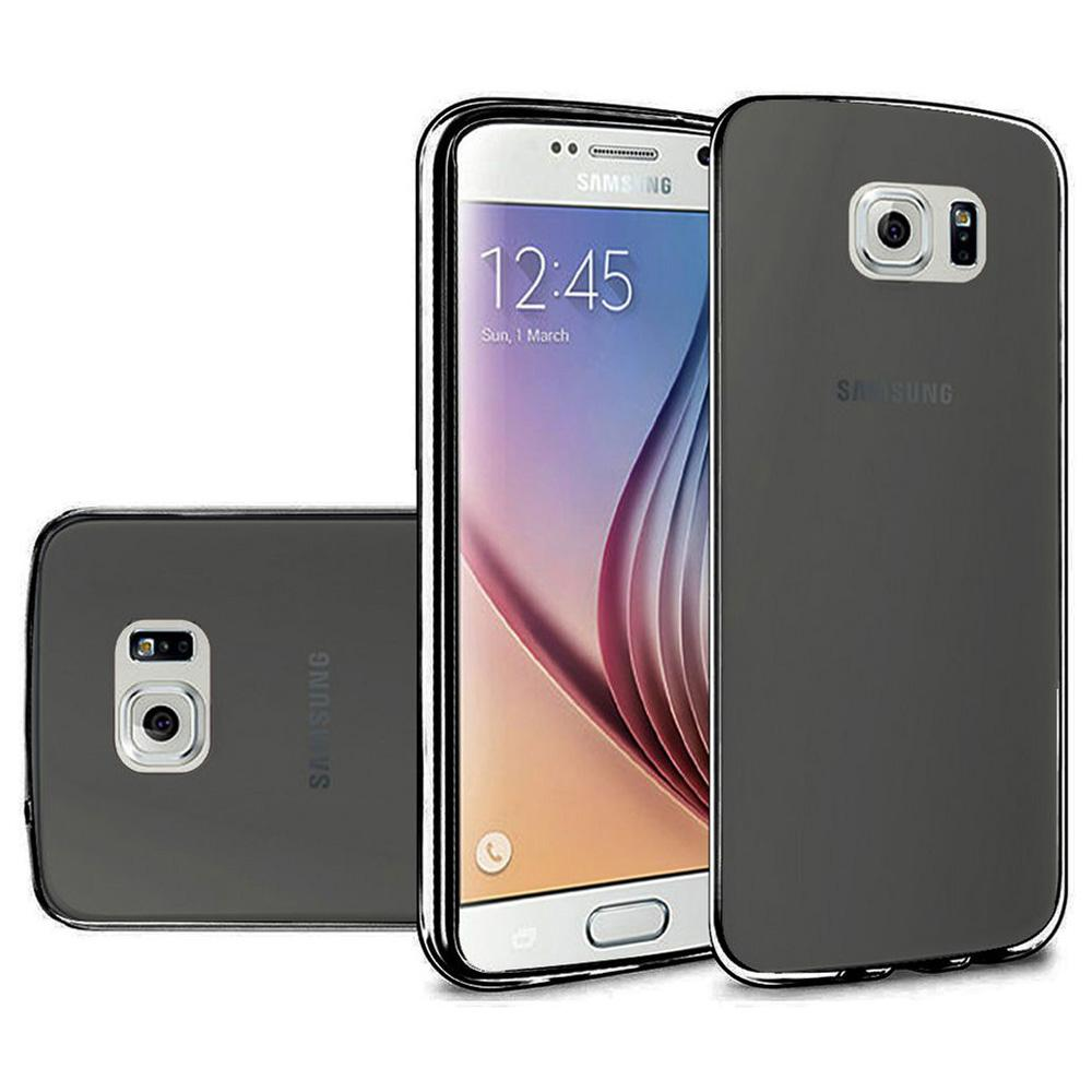 Frosted Matte TPU Case - Black for Samsung Galaxy S6 SM-G920F