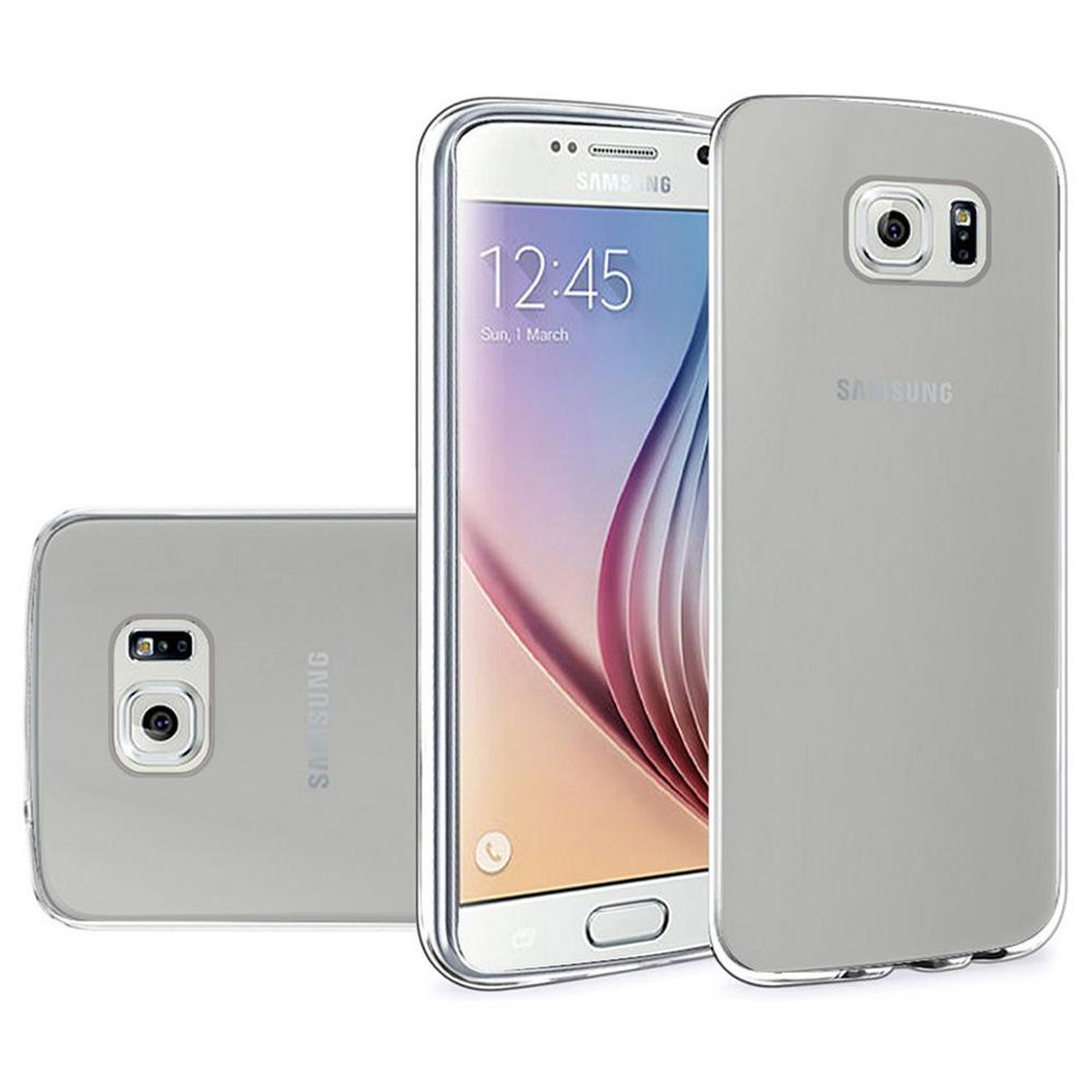Frosted Matte TPU Case - Clear for Samsung Galaxy S6 SM-G920F
