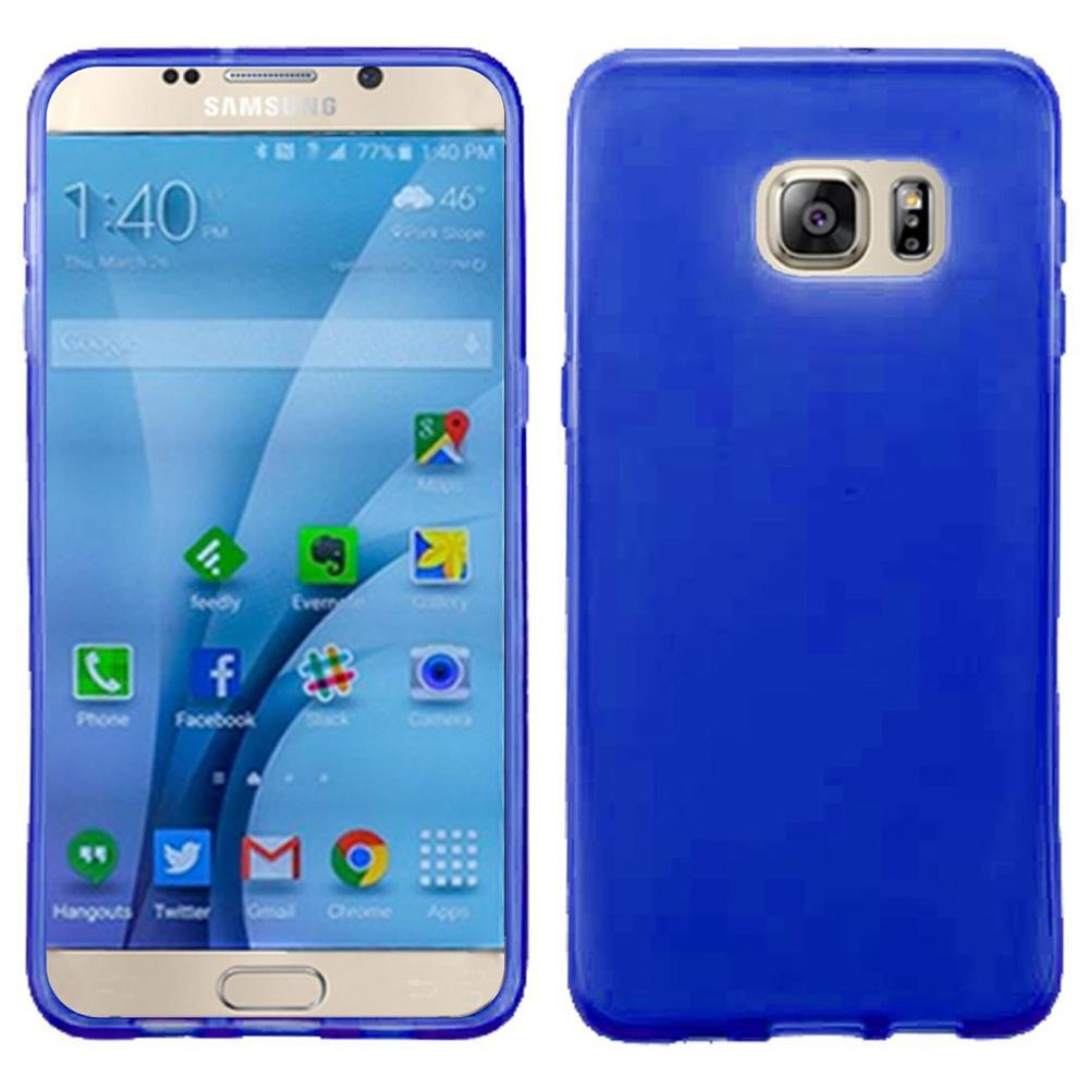 Frosted Matte TPU Case - Blue for Samsung GALAXY S7 SM-G930F