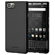 Load image into Gallery viewer, AMZER Shockproof Pudding Soft TPU Skin Case for BlackBerry KEYone - Black