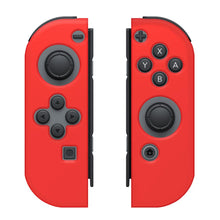 Load image into Gallery viewer, Silicone Skin Nintendo Switch Joy Con Console Red