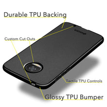Load image into Gallery viewer, AMZER Pudding TPU Case - Black for Motorola Moto Z2 Play