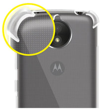 Load image into Gallery viewer, AMZER Pudding TPU X Protection Case - Crystal Clear for Motorola Moto C Plus