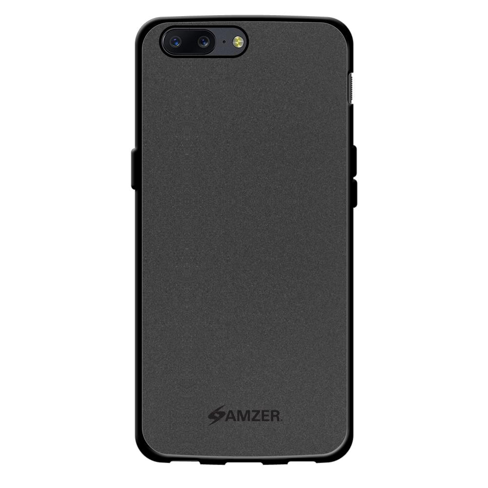 AMZER Pudding TPU Case - Black for OnePlus 5