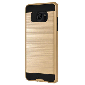 AMZER® Hybrid Metto Case - Gold for Samsung Galaxy Note Fan Edition