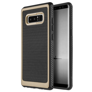 Protective Flexible TPU Case - Gold for Samsung Galaxy Note8 SM-N950U