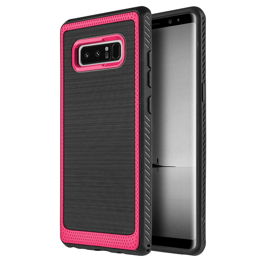 Protective Flexible TPU Case - Red for Samsung Galaxy Note8 SM-N950U