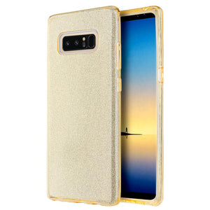 Starry Dazzle Luxury TPU Case - Gold for Samsung Galaxy Note8 SM-N950U