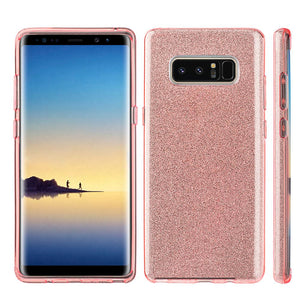 Starry Dazzle Luxury TPU Case - Pink for Samsung Galaxy Note8 SM-N950U