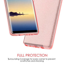 Load image into Gallery viewer, Starry Dazzle Luxury TPU Case - Pink for Samsung Galaxy Note8 SM-N950U