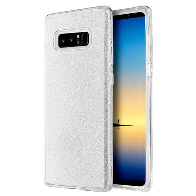 Starry Dazzle Luxury TPU Case - Silver for Samsung Galaxy Note8 SM-N950U