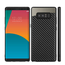 Load image into Gallery viewer, Carbon Metallic Fusion Candy TPU Case with Car Mount System - Black for Samsung Galaxy Note8 SM-N950U