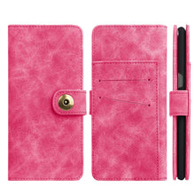 Load image into Gallery viewer, Leather Flip Wallet with Card Slot and Detachable Back Case - Pink for Samsung Galaxy Note8 SM-N950U