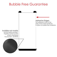Load image into Gallery viewer, Premium Tempered Glass 3D Curved Screen Protector - Black for Samsung Galaxy Note8 SM-N950U