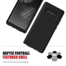 Load image into Gallery viewer, Hybrid Anti Slip Case - Black for Samsung Galaxy Note8 SM-N950U
