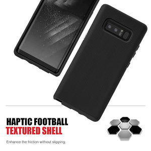 Hybrid Anti Slip Case - Black for Samsung Galaxy Note8 SM-N950U