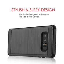 Load image into Gallery viewer, Hybrid Anti Shock Armor Case - Black for Samsung Galaxy Note8 SM-N950U