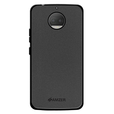AMZER Pudding Soft TPU Skin Case for Motorola Moto G5s Plus XT1803 - Black