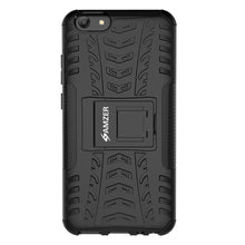 Load image into Gallery viewer, AMZER Shockproof Warrior Hybrid Case for Vivo Y69 - Black/Black