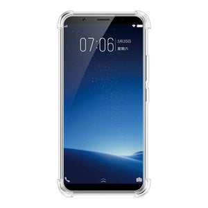 AMZER Pudding TPU X Protection Case - Crystal Clear for Vivo X20