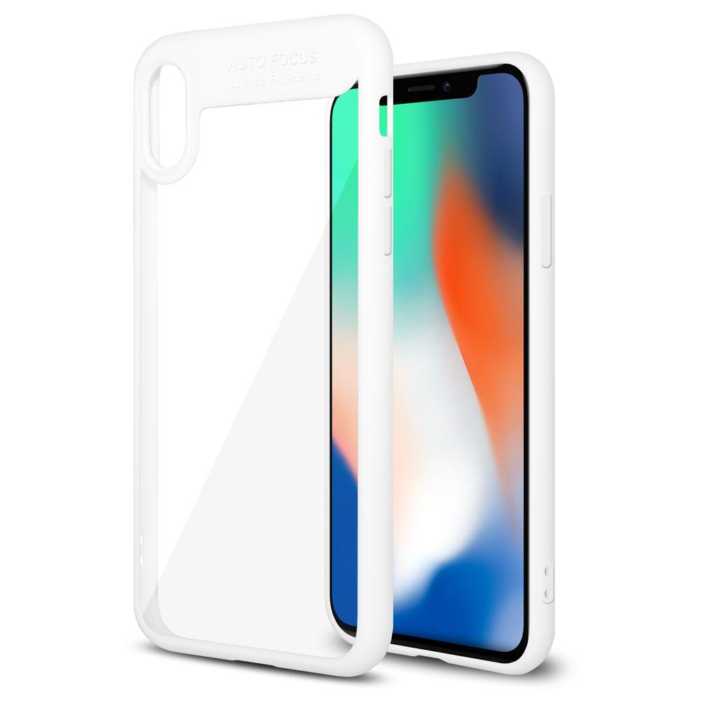 AMZER Bare Hands Hybrid Protection Case - White for iPhone X