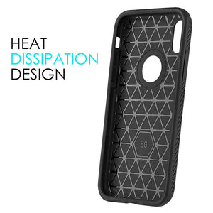 Protective Flexible TPU Case - Black for iPhone X