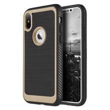 Load image into Gallery viewer, Protective Flexible TPU Case - Gold for iPhone X