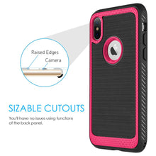 Load image into Gallery viewer, Protective Flexible TPU Case - Red for iPhone X