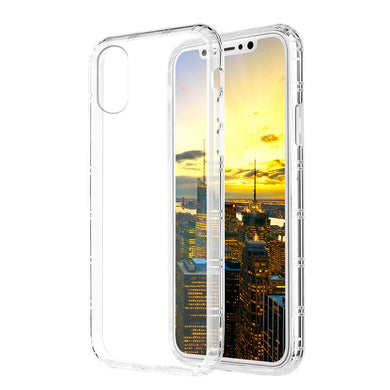 SlimGrip Shockproof Hybrid Case with Clear Trim for iPhone X