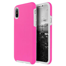 Load image into Gallery viewer, Hybrid Anti Slip Case - Hot Pink for iPhone X