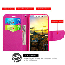 Load image into Gallery viewer, Trendy Leather Flip Wallet Case with Stand and Card Slot - Xoxo for iPhone X
