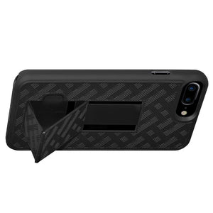 Shell and Holster Combo for iPhone 8 Plus