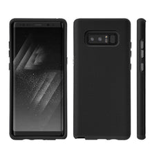 Load image into Gallery viewer, Executive Leather Horizontal Pouch with Belt Clip + Hybrid Anti Slip Case Combo Pack for Samsung Galaxy Note8 SM-N950U