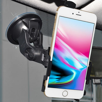 AMZER Suction Cup Mount for Windshield, Dash or Console for iPhone 8 7 SE 2020