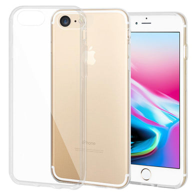 Shockproof Ultra Thin Premium TPU Skin Cover for iPhone 8 - Clear