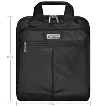 Load image into Gallery viewer, Carry On Laptop Backpack - Black