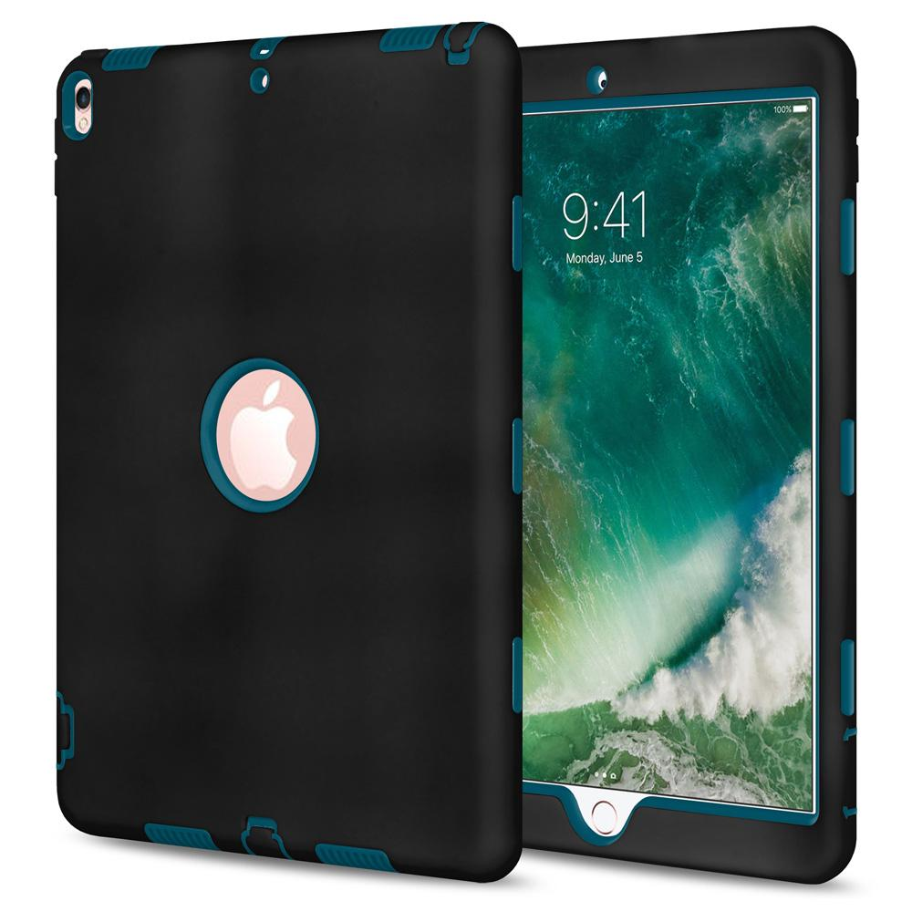 Dual Layer Hybrid Case - Black/Blue for Apple iPad Pro 10.5